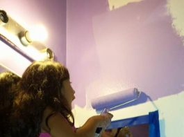 House Painting with Your Kids