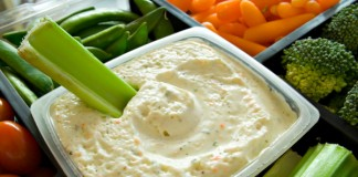 healthy dips, greek yogurt